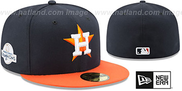 Astros '2017 WORLD SERIES' CHAMPIONS ROAD Hat by New Era