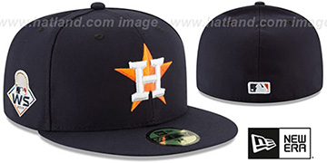Astros '2019 WORLD SERIES' HOME Hat by New Era