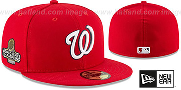 Nationals '2019 WORLD SERIES' GAME CHAMPIONS Fitted Hat by New Era