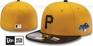 Pirates '2013 POSTSEASON' ALTERNATE-2 Hat by New Era