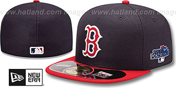 Red Sox 2013 POSTSEASON 'DIAMOND-TECH' Hat by New Era