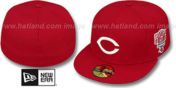 Reds 1976 'WORLD SERIES CHAMPS' GAME Hat by New Era