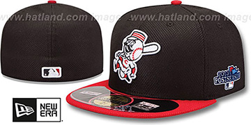 Reds 2013 POSTSEASON 'DIAMOND-TECH' Hat by New Era