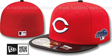 Reds '2013 POSTSEASON' ROAD Hat by New Era