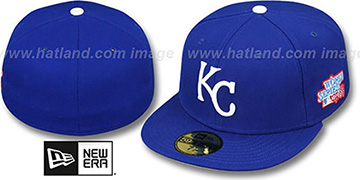 Royals 1985 'WORLD SERIES CHAMPS' GAME Hat by New Era