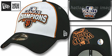 SF Giants 2010 'NATIONAL LEAGUE CHAMPS' Hat by New Era