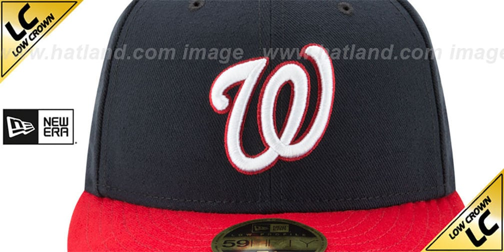 Nationals '2019 LC WORLD SERIES' ALTERNATE CHAMPIONS Fitted Hat by New Era